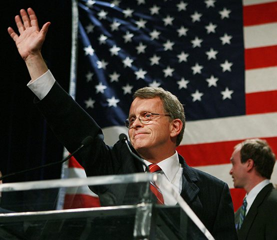 mike dewine governor of ohio