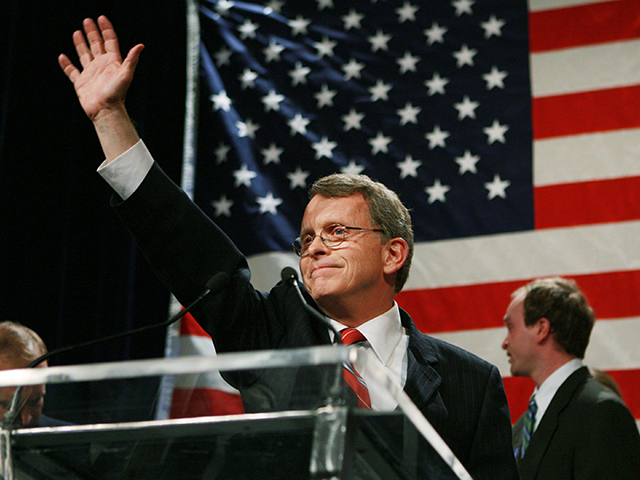 mike dewine governor of ohio